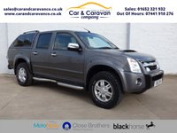 USED 2011 61 ISUZU RODEO 3.0 TD DENVER MAX PLUS DCB 1d 161 BHP Full Service History NAV A/C Buy Now, Pay Later Finance!