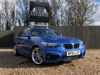 USED 2015 65 BMW 2 SERIES 2.0 218D M SPORT 2dr 1 Year Parts & Labour Warranty