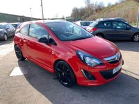 USED 2014 14 VAUXHALL CORSA 1.2 LIMITED EDITION 3d 83 BHP FULL SERVICE HISTORY
