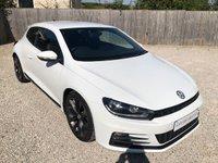 2016 VOLKSWAGEN SCIROCCO 2.0 GT TDI BLUEMOTION TECHNOLOGY 2d 150 BHP NAV £14495.00