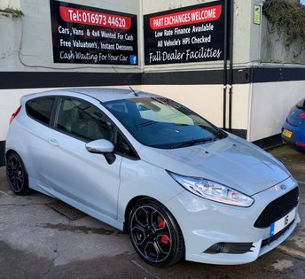 2016 FORD FIESTA ST-200 1.6 ECOBOOST 3DR 200 BHP, LOW MILEAGE, GHOST IMMOBILISER £14950.00