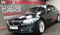 2015 BMW 5 SERIES 2.0 520D LUXURY TOURING 5d AUTO 188 BHP £16995.00