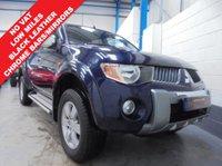 2010 MITSUBISHI L200 2.5 4WD WARRIOR DCB 4d 134 BHP £8995.00