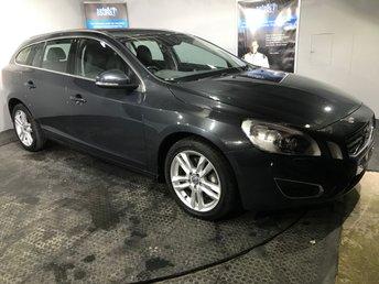 2012 VOLVO V60 2.4 D5 SE LUX NAV 5d AUTO 212 BHP £11465.00