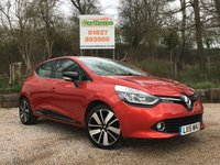 USED 2015 15 RENAULT CLIO 0.9 DYNAMIQUE S MEDIANAV ENERGY TCE S/S 5dr 1 Owner, Sat Nav, £20 Tax!