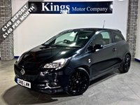 "USED 2016 16 VAUXHALL CORSA 1.4 LIMITED EDITION Turbo S/S 3dr  SAVE £££££""S ON New Price !!!, 17 Inch Glass Black Alloys,"