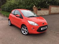 USED 2011 11 FORD KA 1.2 TITANIUM 3d 69 BHP PLEASE CALL TO VIEW