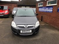 USED 2011 11 VAUXHALL ZAFIRA 1.8 DESIGN 5d 138 BHP 7 SEATER SEATS, 66K MILES, 2 OWNERS