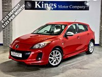 USED 2013 63 MAZDA 3 1.6 TAMURA 5dr Lovely Example, FSH , Nice Spec, Stunning in Pearlescent Red!