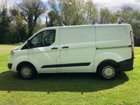 USED 2014 64 FORD TRANSIT CUSTOM 2.2 270 TREND LR P/V 1d 124 BHP ***EXCELLENT FINANCE PACKAGES AVAILABLE*** ONE OWNER FROM NEW *** PARKING SENSORS** FULL SERVICE HISTORY**
