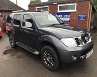 USED 2010 10 NISSAN PATHFINDER 2.5 TEKNA DCI 5d 188 BHP 4x4 4WHEEL DRIVE, 7 SEATER SEATS, FULL LEATHER