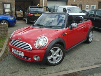 2010 MINI CONVERTIBLE 1.6 COOPER 2d 122 BHP £4750.00