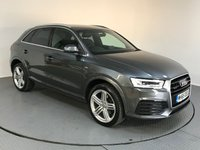 USED 2016 65 AUDI Q3 2.0 TDI QUATTRO S LINE PLUS 5d AUTO 182 BHP ONE OWNER - AUDI HISTORY - PARKING SENSORS - AIR CONDITIONING - PARKING SENSORS - AIR CONDITIONING