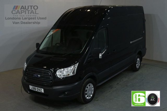 2018 18 FORD TRANSIT 2.0 350 L3 H3 130 BHP LWB H/ROOF TREND AIR CON EURO 6 VAN