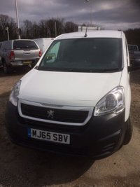 USED 2015 65 PEUGEOT PARTNER 1.6 HDI PROFESSIONAL 625 1d 92 BHP