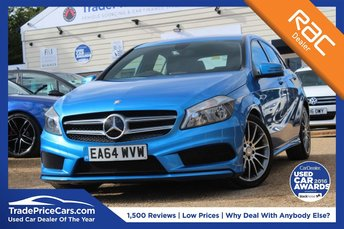 2015 MERCEDES-BENZ A CLASS 1.6 A200 BLUEEFFICIENCY AMG SPORT 5d AUTO 156 BHP