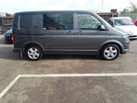 USED 2015 65 VOLKSWAGEN TRANSPORTER 2.0 T32 TDI KOMBI HIGHLINE 4MOTION BMT 4d AUTO 177 BHP