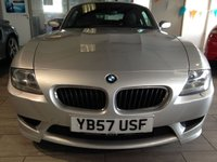 USED 2008 57 BMW Z4 3.2 Z4 M COUPE 2d 338 BHP Finance Full BMW Service Hstry