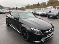 USED 2017 67 MERCEDES-BENZ C CLASS 4.0 AMG C 63 S PREMIUM 2d AUTO 503 BHP Only 3,750 miles with AMG Performance seats, AMG Switchable exhaust ++ 3,750 miles