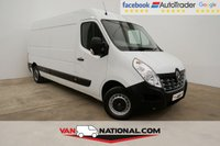 USED 2016 66 RENAULT MASTER 2.3 LM35 BUSINESS DCI S/R P/V 125 BHP * 1 OWNER * BLUETOOTH * DAB  * READY TO DRIVE AWAY TODAY *