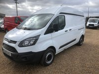 USED 2015 15 FORD TRANSIT CUSTOM 2.2 290  HR  P/V 1d 99 BHP LWB L2 HIGH ROOF 2015 LWB HI ROOF ONE OWNER FROM NEW