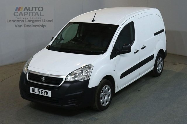 2015 15 PEUGEOT PARTNER 1.6 HDI PROFESSIONAL L1 850 90 BHP AIR CON MANUAL VAN NO VAT AIR CONDITIONING NO VAT