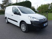 USED 2016 16 CITROEN BERLINGO 625 ENTERPRISE L1 1.6 HDI 75 BHP Direct From Leasing Company With Only 16000 Miles! Higher Specification Model With Air Con, E/W And Park Sensors! Very Clean Example!