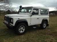 USED 2002 02 LAND ROVER DEFENDER 2.5 90 HARD-TOP TD5 1d 120 BHP * NO VAT * NO VAT Service Warranty Mot