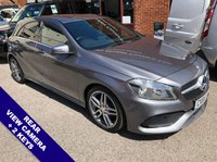 """USED 2016 66 MERCEDES-BENZ A-CLASS 2.1 A 200 D AMG LINE 5DOOR AUTO 134 BHP USB Socket    :    Automatic Headlights    :    Satellite Navigation    :    18"""" Alloy Wheels    :   Phone Bluetooth Connectivity   :   Climate Control / Air Conditioning   :   Reversing camera"""