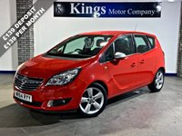 USED 2014 64 VAUXHALL MERIVA 1.4 TECH LINE 5dr MPV  Heated Seats & Steering Wheel !, 1 Owner , FSH , Lovely Example