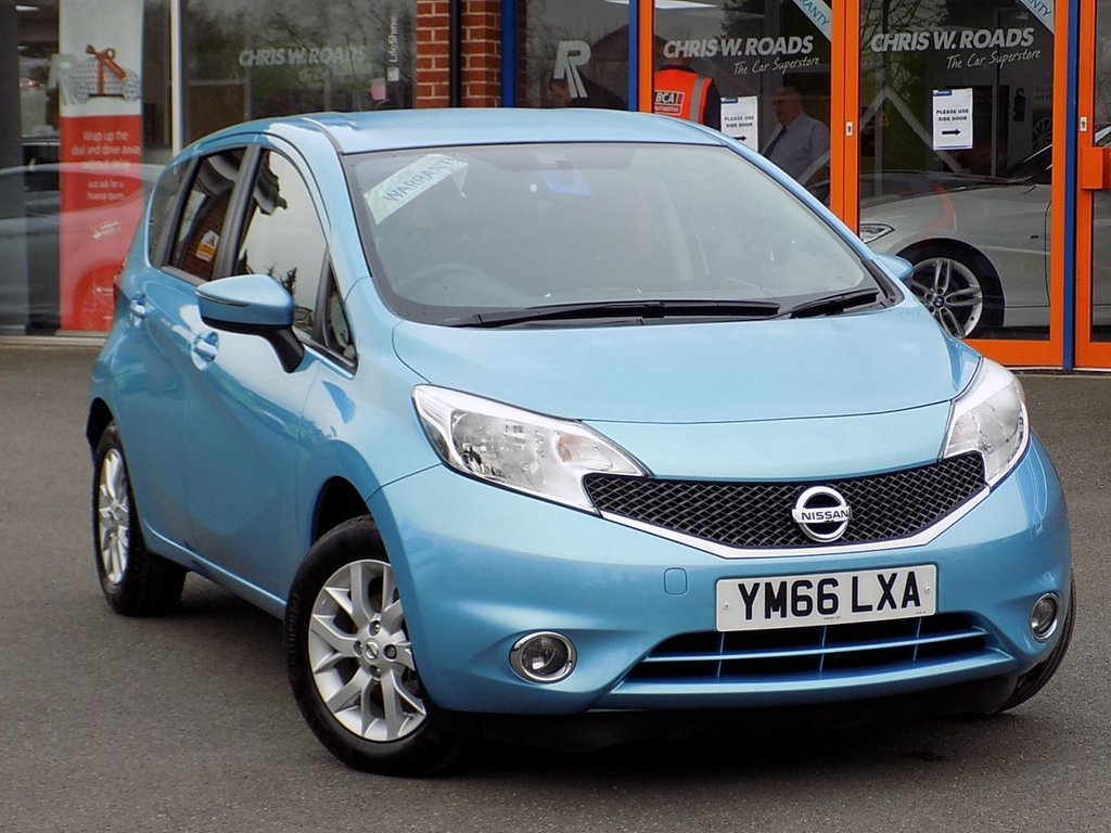 USED 2017 66 NISSAN NOTE 1.2 Acenta 5dr ** Bluetooth + Cruise + AC **