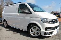 USED 2018 18 VOLKSWAGEN TRANSPORTER 2.0 T32 TDI P/V SPORTLINE BMT 1d AUTO 201 BHP MEGA VEHICLE - REALLY MUST BE SEEN - AMAZING SPECIFICATION