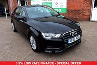 USED 2015 15 AUDI A3 1.6 TDI SE TECHNIK 5d 109 BHP +SAT NAV +BLUETOOTH +ONE OWNER