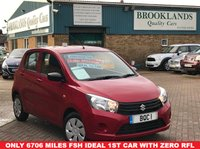 USED 2016 66 SUZUKI CELERIO 1.0 SZ2 5 Door Ablaze Red Pearlescent ZERO ROAD TAX 67 BHP Only 6706 miles with FSH Ideal 1st car with Zero Road Tax