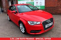 USED 2015 64 AUDI A3 2.0 TDI SPORT 5d 148 BHP +ONE OWNER +FSH +NICE ALLOYS.