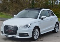 USED 2015 65 AUDI A1 1.6 TDI S LINE 3d 114 BHP ** PANORAMIC ROOF **