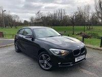 2014 BMW 1 SERIES 2.0 116D SPORT 3d 114 BHP £8450.00