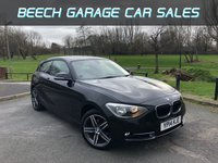 USED 2014 14 BMW 1 SERIES 2.0 116D SPORT 3d 114 BHP