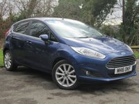 USED 2016 16 FORD FIESTA 1.0 TITANIUM 5d  VERY LOW MILEAGE ECONOMICAL HATCHBACK