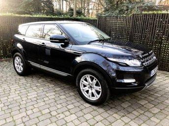 2012 LAND ROVER RANGE ROVER EVOQUE 2.2 SD4 PURE TECH 5d AUTO 190 BHP £17495.00
