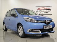 USED 2015 15 RENAULT SCENIC 1.5 LIMITED ENERGY DCI S/S 5d 110 BHP One owner, Full Renault history and Panoramic glass roof