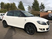 USED 2012 12 SKODA FABIA 1.6 TDI MONTE CARLO CR 5d  WITH SERVICE HISTORY AND LOW TAX NO DEPOSIT HP FINANCE ARRANGED, APPLY HERE NOW