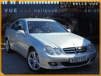 USED 2007 07 MERCEDES-BENZ CLK 1.8 CLK200 KOMPRESSOR AVANTGARDE 2d AUTO 181 BHP *9 SERVICE RECORDS, FRONT & REAR PARKING SENSORS*