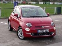 2015 FIAT 500 1.2 Lounge 3dr [Start Stop] £7495.00
