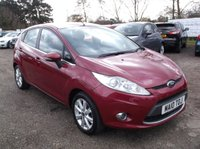 USED 2010 10 FORD FIESTA 1.2 ZETEC 5d 81 BHP ****Great Value car with excellent service history****