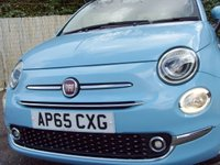USED 2016 65 FIAT 500 1.2 LOUNGE 3d 69 BHP
