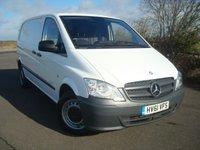 2012 MERCEDES-BENZ VITO 2.1 110 CDI 1d 95 BHP NO VAT £5995.00