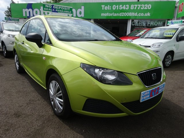 USED 2009 09 SEAT IBIZA 1.2 S A/C 3d 69 BHP ** 01543 877320 ** JUST ARRIVED **