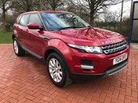 2014 LAND ROVER RANGE ROVER EVOQUE 2.2 SD4 PURE TECH 5d 190 BHP £18990.00