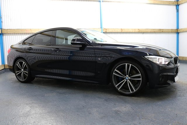 2016 BMW 4 SERIES 420D M SPORT GRAN COUPE PROFESSIONAL MEDIA 4d 188 BHP (FINANCE & WARRANTY)